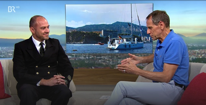 TV: ARD/BR-Abendschau – Interview about UN Global Goals and the GOST Navigators Heritage – Reflections