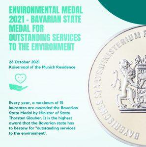 Bavarian State Medal Award ceremony